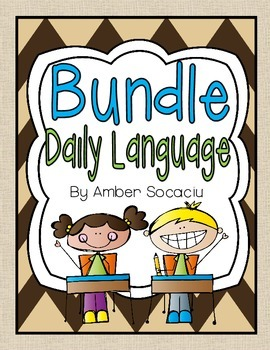Daily Language Review Yearly Bundle