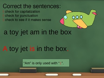 Daily Language Review for 2nd Grade: Interactive PowerPoint Weeks 7-9