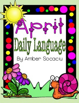 Daily Language Review for April