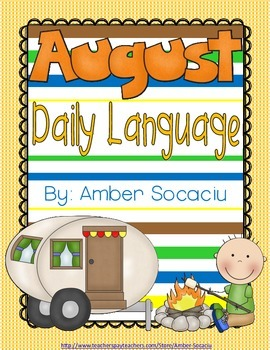 Daily Language Review for August