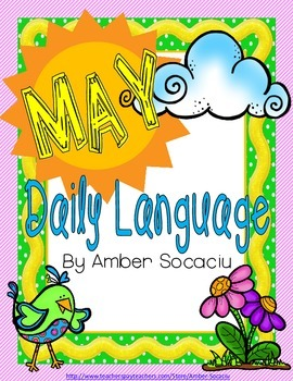 Daily Language Review for May