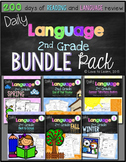 Daily Language Second Grade Bundle Pack