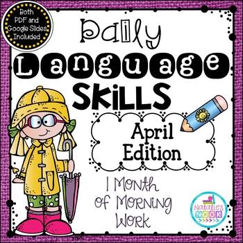 Daily Language Skills {April Morning Work}