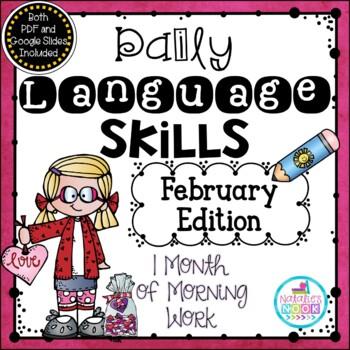Daily Language Skills {February Morning Work}
