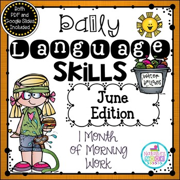 Daily Language Skills {June Morning Work}