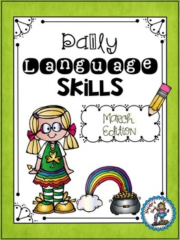 Daily Language Skills {March Morning Work}