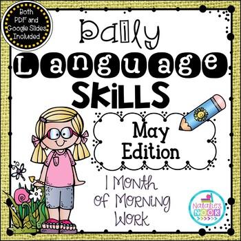 Daily Language Skills {May Morning Work}