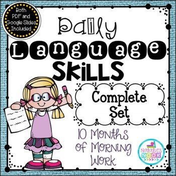 Daily Language Skills {Morning Work BUNDLE}