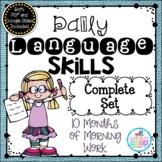 Daily Language Skills {Morning Work BUNDLE}