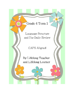 Grade 4 Home Language- Language Structure and Use Term 1