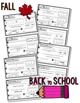Daily Language Third Grade Bundle Pack