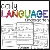 Daily Language Volume 1 Kindergarten