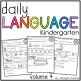 Daily Language Volume 4 Kindergarten