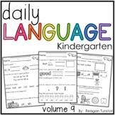 Daily Language Volume 9 Kindergarten