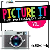 Language Arts Warm Ups: Comprehension through Pictures  Vol. 1 {20 weeks}