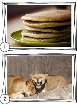 Language Arts Warm Ups: Comprehension through Pictures  Vol. 1 {20 weeks}