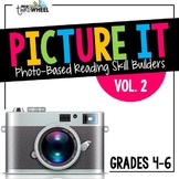 Language Arts Warm Ups: Comprehension through Pictures Vol. 2 {20 weeks}