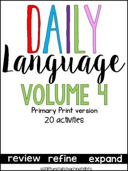 Daily Language 4