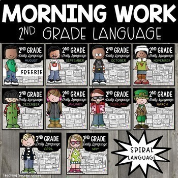 Daily Language for Second Grade