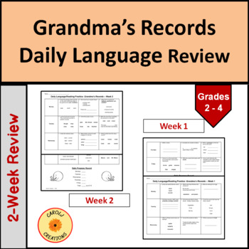 Daily Language/Reading Practice for Grandma's Records
