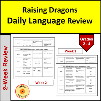 Daily Language/Reading Practice for Raising Dragons