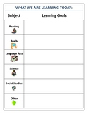 Daily Learning Goals