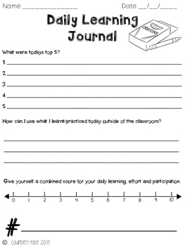 Daily Learning Journal
