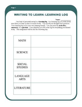 Daily Learning Log: Summarizing