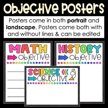 Daily Learning Objectives