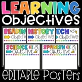Learning Objective Posters