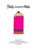 Daily Lesson Plan Bundle