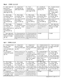 Daily Lesson Planning Guide for K-1 CCSS Writing Printable