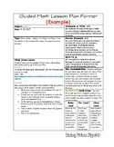 Daily Lesson Planning Template (Vertical) Example