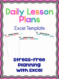 Daily Lesson Plans Template