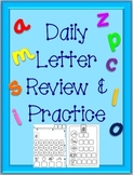 Daily Letter Sound Review and Practice