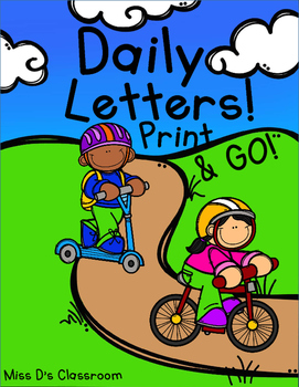 Daily Letters! Print & GO!