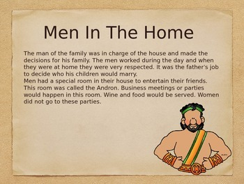 Daily Life In Ancient Greece Part 2 (Powerpoint)