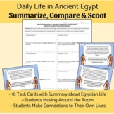 Daily Life in Egypt Summarize, Compare & Scoot