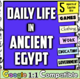 Ancient Egypt Daily Life: Experience 5 areas of life in Ancient Egypt! Fun!