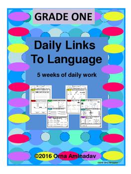 Daily Links To Language- Grade 1