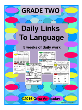 Daily Links To Language- Grade 2