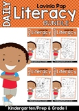 Daily Literacy Morning Work BUNDLE