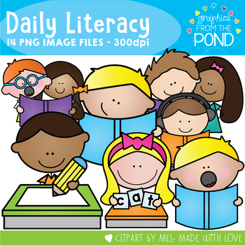 Daily Literacy Clipart