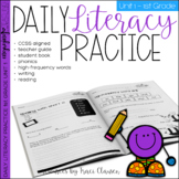 1st Grade Phonics & Sight Word Practice - Daily Literacy Unit 1