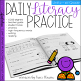 1st Grade Phonics & Sight Word Practice - Daily Literacy Unit 2