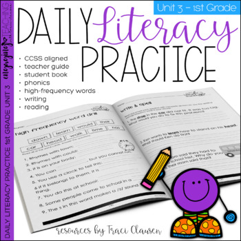 Reading and Writing - Daily Literacy Practice - UNIT 3