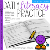 1st Grade Phonics & Sight Word Practice - Daily Literacy Unit 3