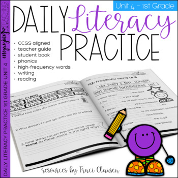 Reading and Writing - Daily Literacy Practice - UNIT 4