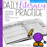 1st Grade Phonics & Sight Word Practice - Daily Literacy Unit 4