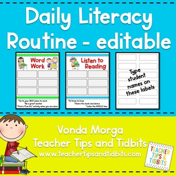 Daily Literacy Station Management
